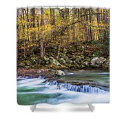 Autumn In Smoky Mountains National Park  Shower Curtain