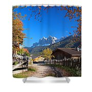 Autumn In South Tyrol Shower Curtain