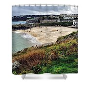 Autumn In St Ives Shower Curtain
