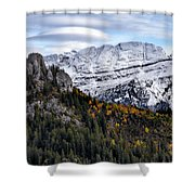 Autumn In Switzerland Shower Curtain