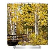 Autumn In Teton National Park Shower Curtain