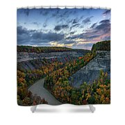 Autumn In The Gorge Shower Curtain
