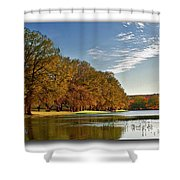 Autumn In The Hill Country Shower Curtain