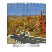 Autumn In The Hockley Valley Shower Curtain