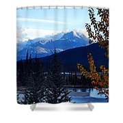 Autumn In The Mountains Shower Curtain