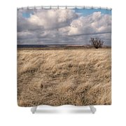 Autumn In The Steppes Shower Curtain