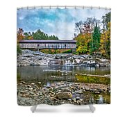 Autumn In The White Mountains Shower Curtain