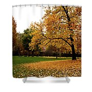 Autumn In Turin, Italy Shower Curtain