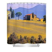Autumn In Tuscany Shower Curtain