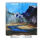 Autumn In Yosemite Shower Curtain