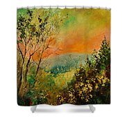 Autumn Landscape 5698 Shower Curtain