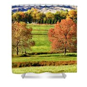 Autumn Landscape Dream Shower Curtain by James BO  Insogna