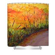 Autumn Lane IIi Shower Curtain