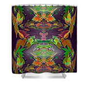 Autumn Leaf Delight Shower Curtain