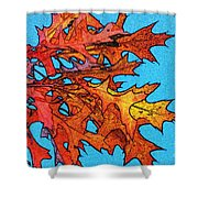 Autumn Leaves 14 Shower Curtain