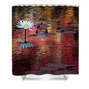 Autumn Lily Shower Curtain