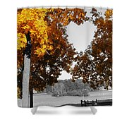 Autumn Love  Shower Curtain