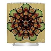 Autumn Mandala Shower Curtain