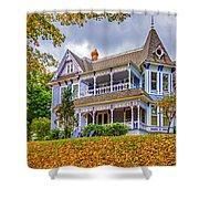 Autumn Mansion Shower Curtain