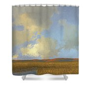 Autumn Marsh Shower Curtain