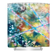 Autumn Shower Curtain by Micah  Guenther
