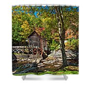 Autumn Mill 2 Shower Curtain