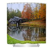 Autumn Mill Shower Curtain