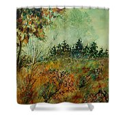 Autumn Mist 68 Shower Curtain
