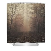 Autumn Mists Shower Curtain