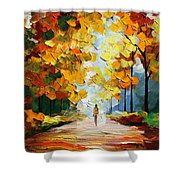 Autumn Mood Shower Curtain