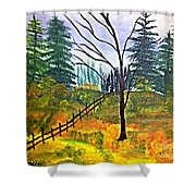 Autumn Morning In The Wild Shower Curtain