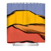 Autumn Mosaic  Shower Curtain