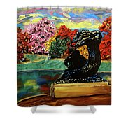 Autumn Music Shower Curtain