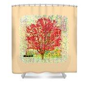 Autumn Musings 2 Shower Curtain