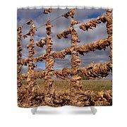 Autumn Net Shower Curtain