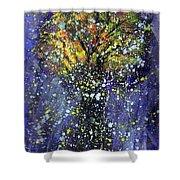 Autumn Night Shower Curtain