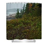 Autumn Nor' Easter Shower Curtain