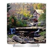 Autumn On Glade Creek Shower Curtain
