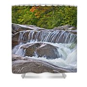 Autumn On The Kancamagus Shower Curtain