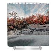 Autumn On The Niagara Shower Curtain