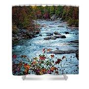 Autumn On Wilson Creek Shower Curtain