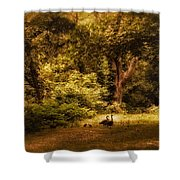 Autumn Outing Shower Curtain