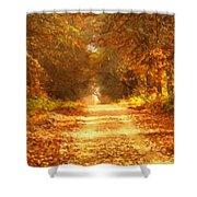 Autumn Paradisium Shower Curtain