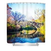 Autumn Park Shower Curtain
