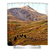 Autumn Peaks In The Rockies Shower Curtain