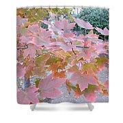 Autumn Pink Shower Curtain
