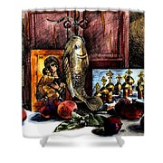 Autumn Prayer Shower Curtain