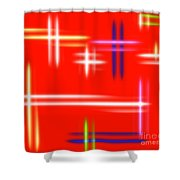 Autumn Pulse Shower Curtain