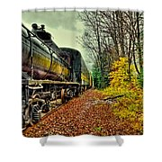 Autumn Railway Shower Curtain