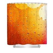 Autumn Raindrops Shower Curtain